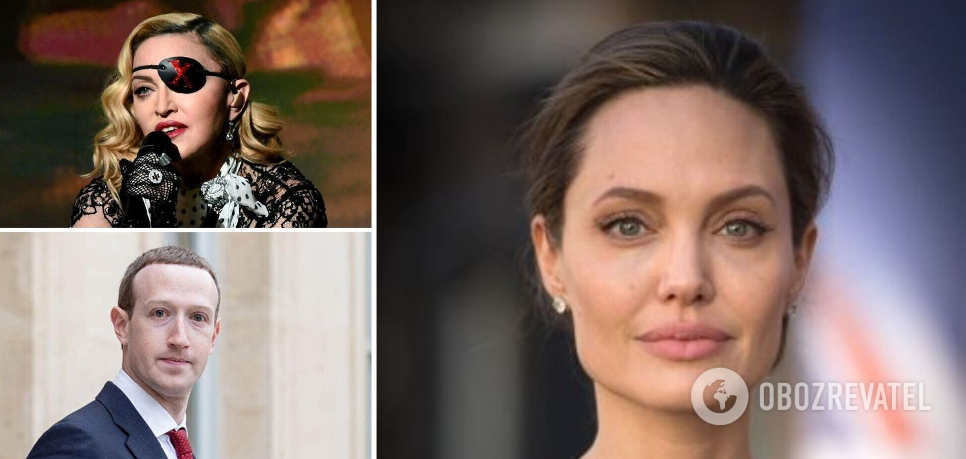 Смажені комахи і свята вода: що їдять Джолі, Мадонна та Цукерберг