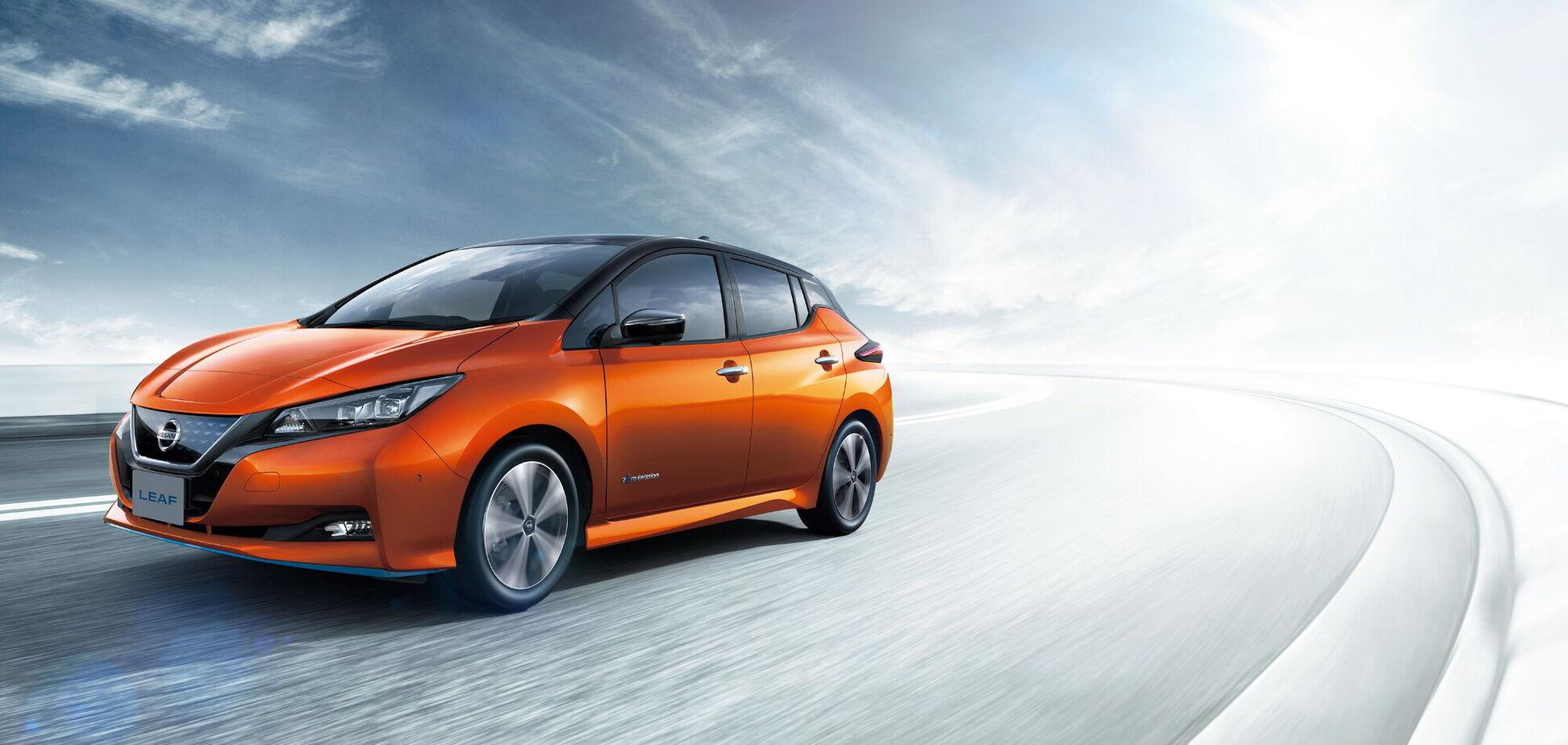 Nissan випробує інноваційну технологію утилізації електродвигунів. Відео