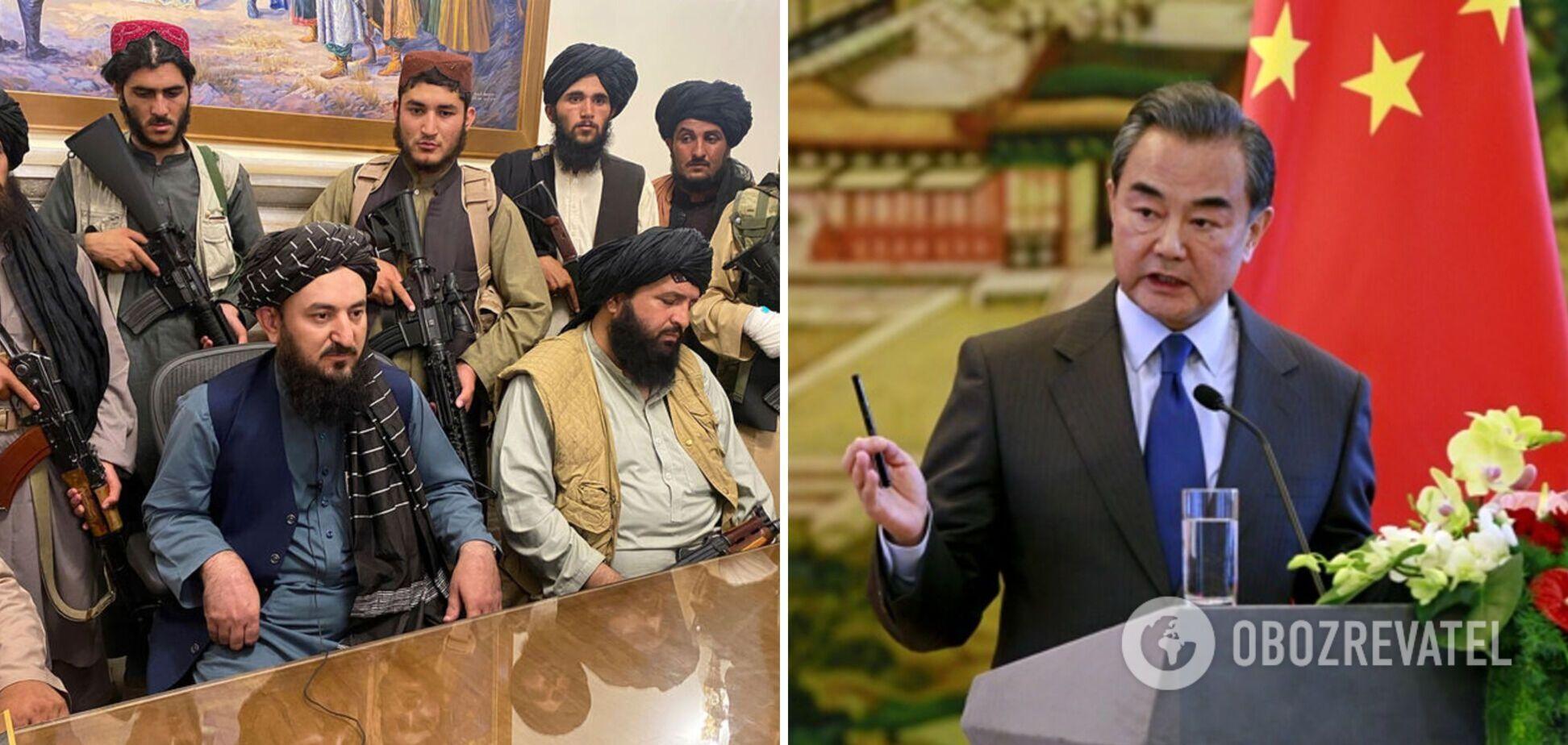 Влада Китаю виділила допомогу талібам в Афганістані