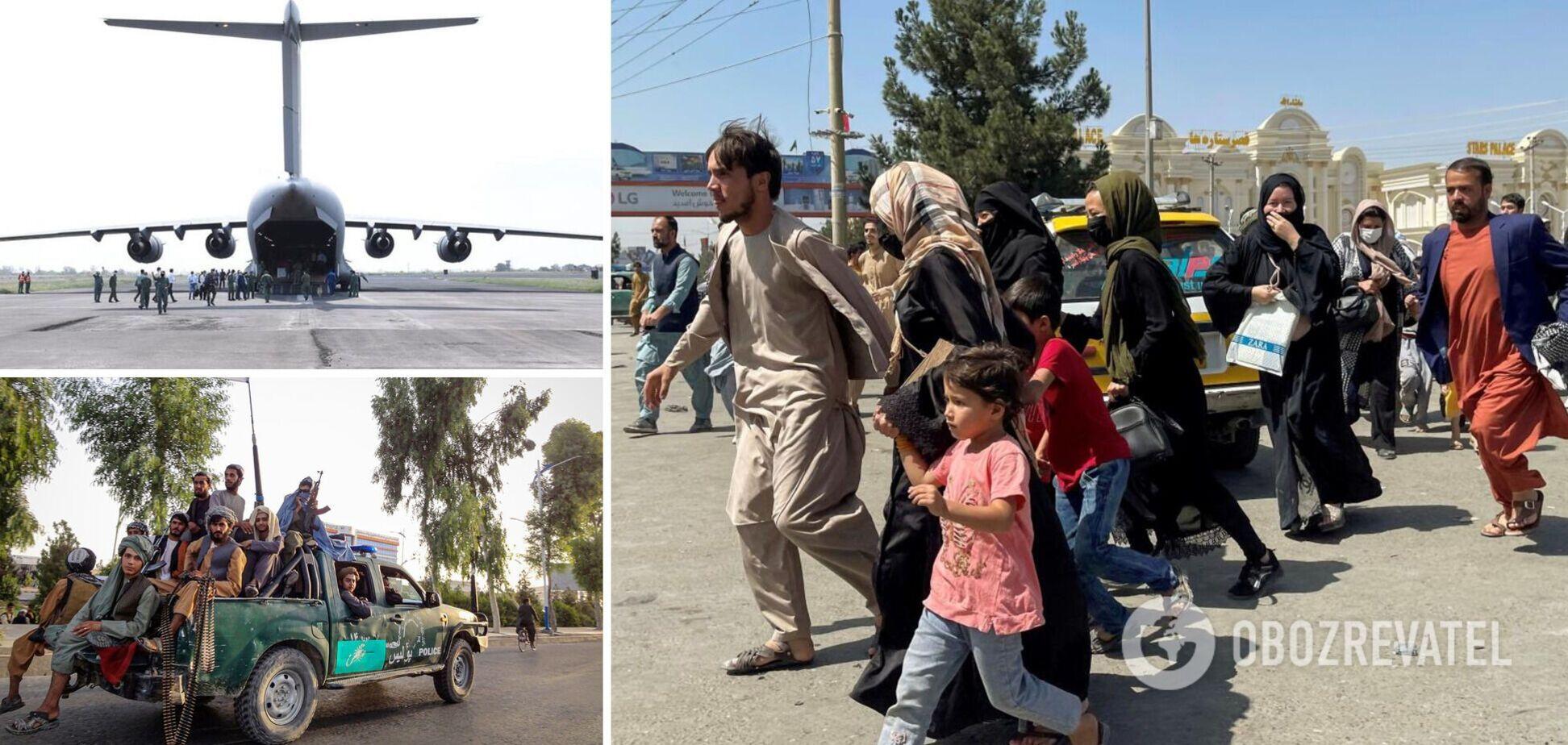 Талибы позволили сотням иностранцев покинуть Афганистан: эвакуация продолжится