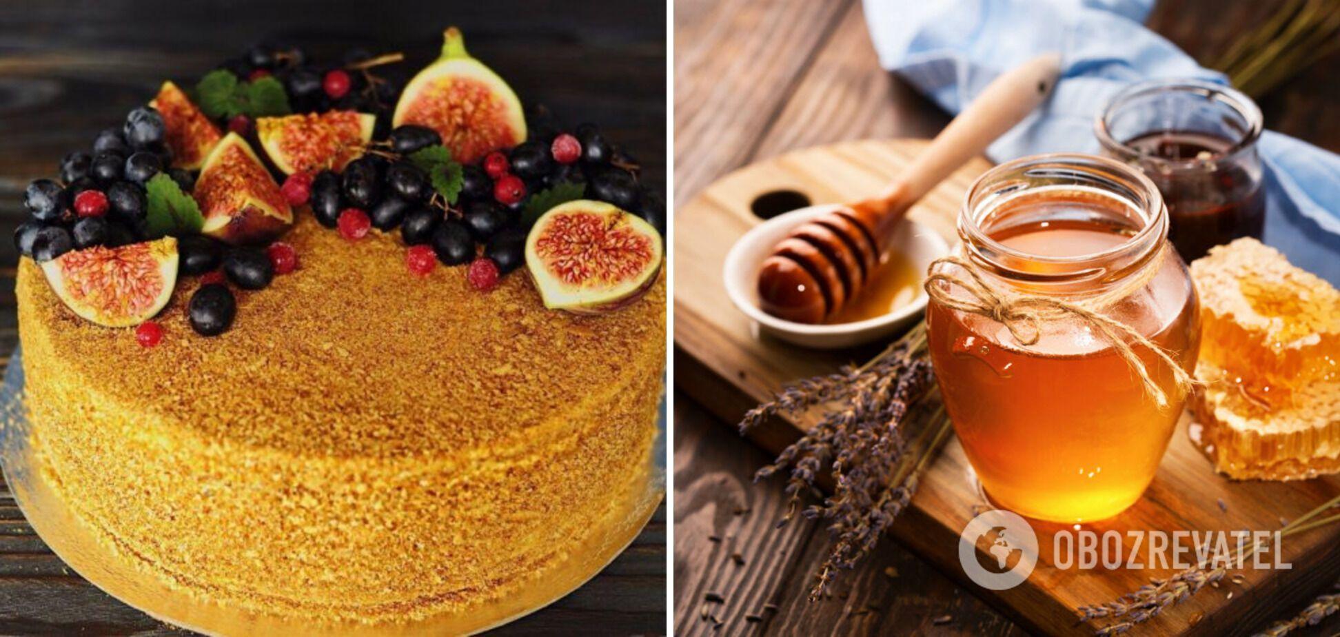 Лінивий медовик без варіння меду та розкатування коржів: корисні лайфхаки