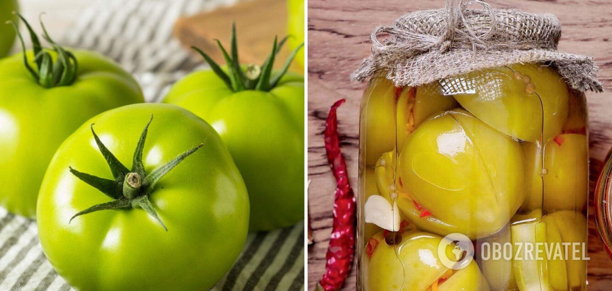 Что приготовить из зеленых помидоров. Вкусный кетчуп, салат и соус