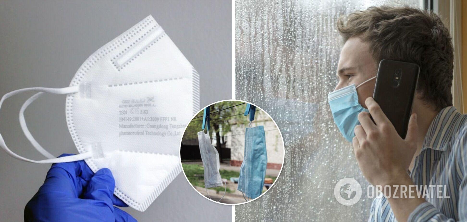Кузін анонсував 'рейди' поліції для контролю за носінням масок