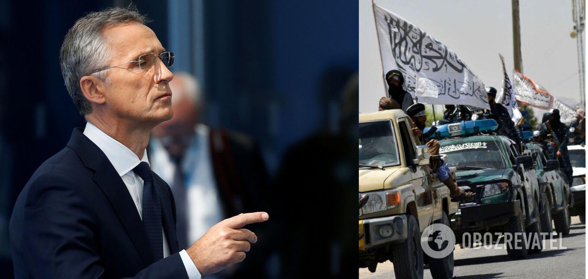 Столтенберг заявив, що НАТО не дозволить перетворити Афганістан на базу для терористів