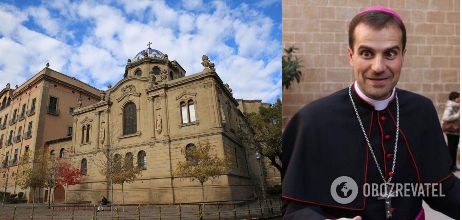 Самый молодой епископ Испании отрекся от сана, когда влюбился в сатанистку