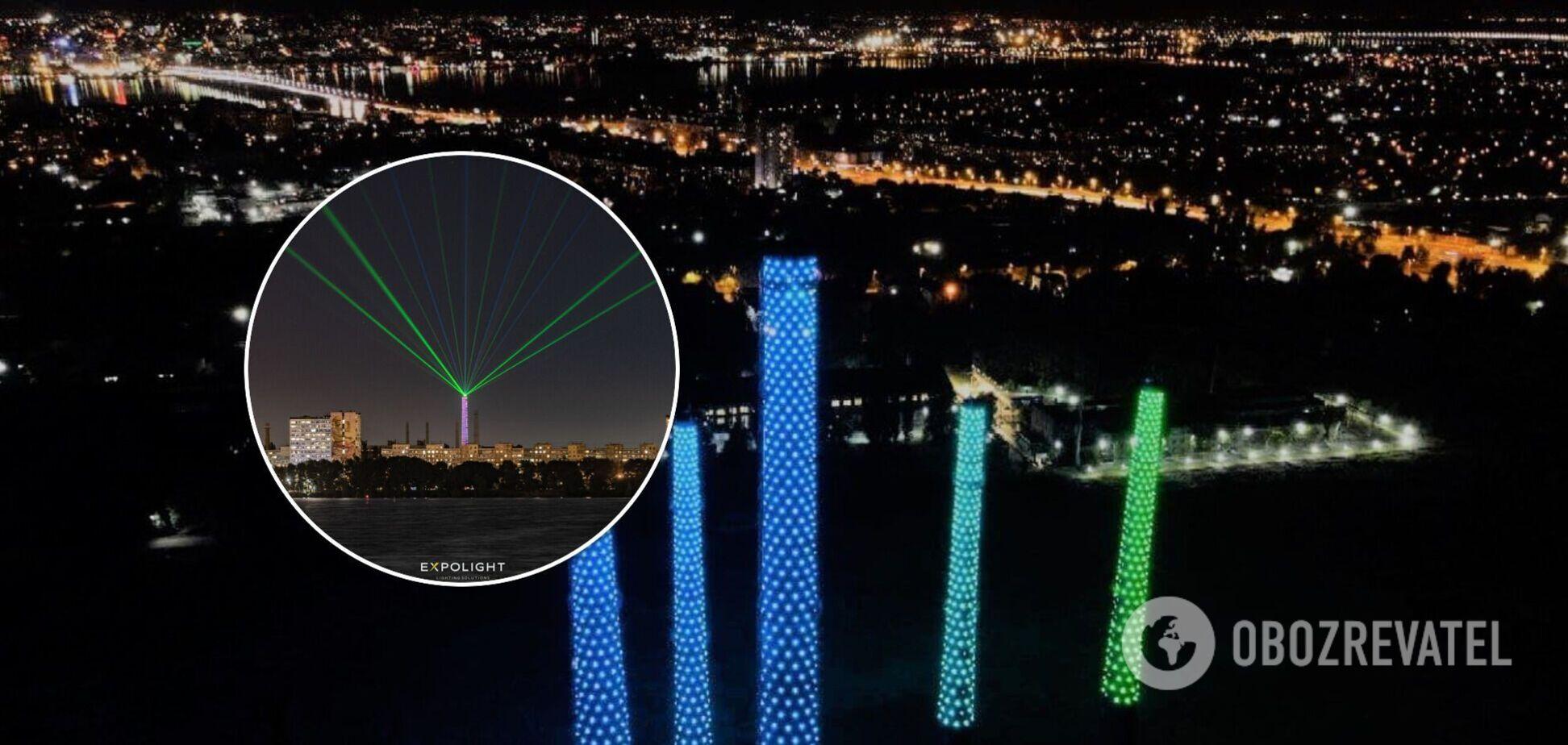 В Днепре на День города представят уникальное свето-лазерное шоу