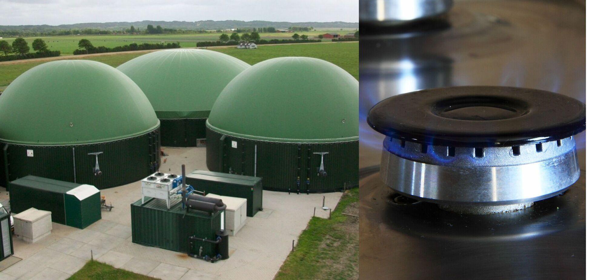 Биогазовые установки Украины смогут производит биометан