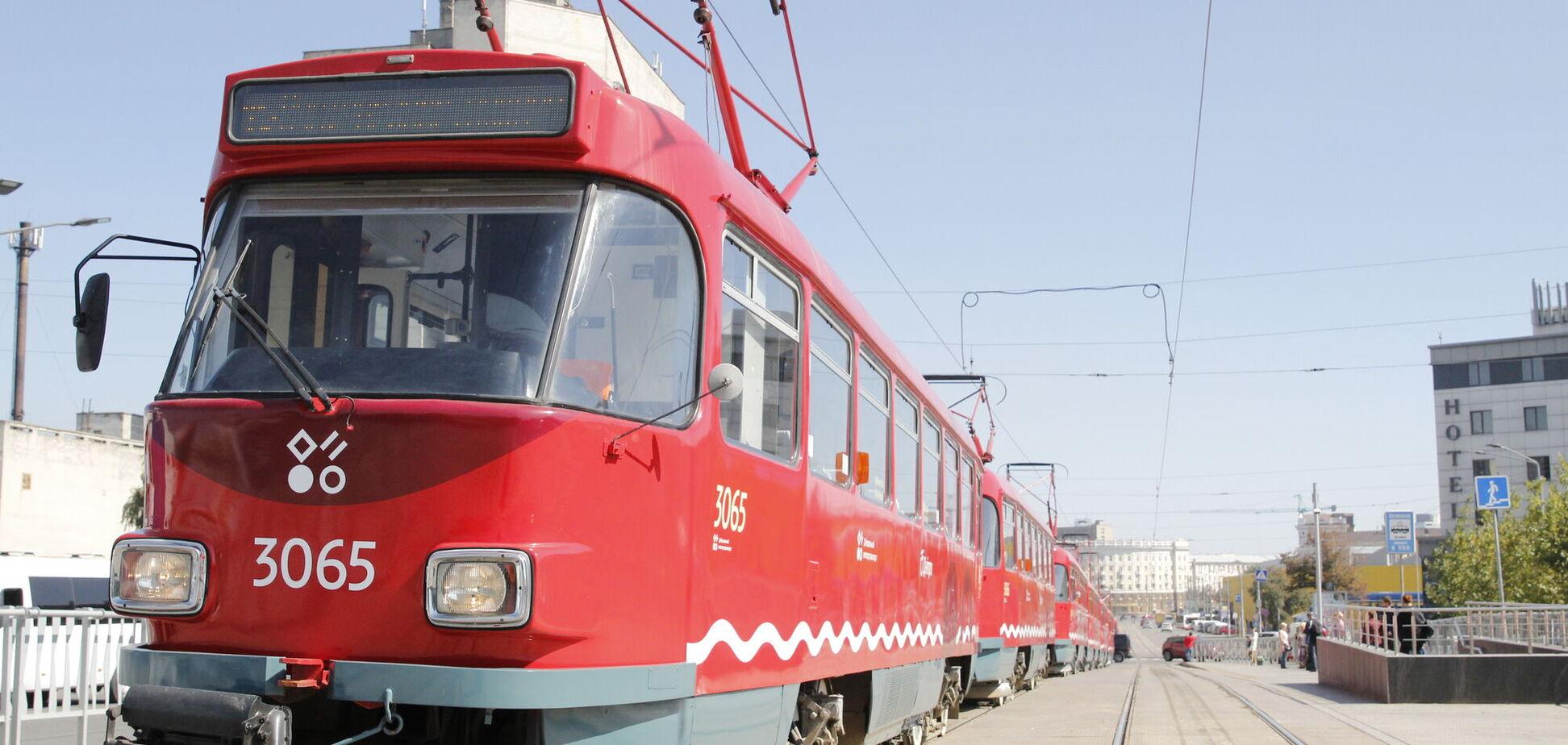В Днепре появились новые трамваи