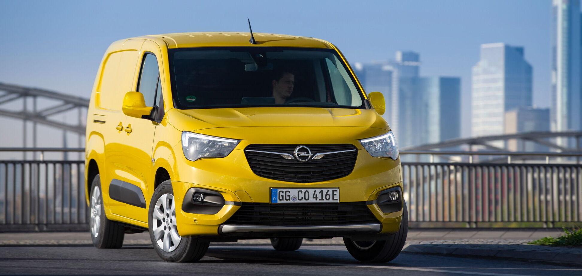 Opel відкрив прийом замовлень на електричний Combo-e Cargo