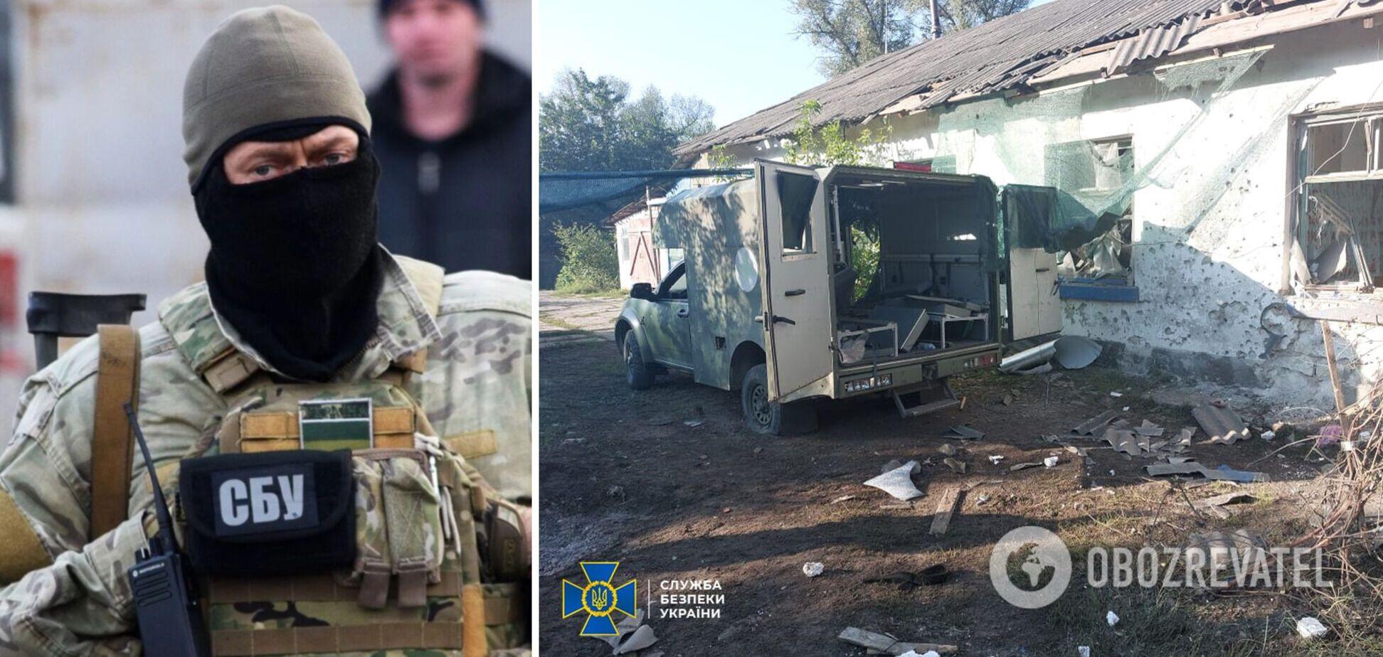 На Донбасі обстріляли СБУ