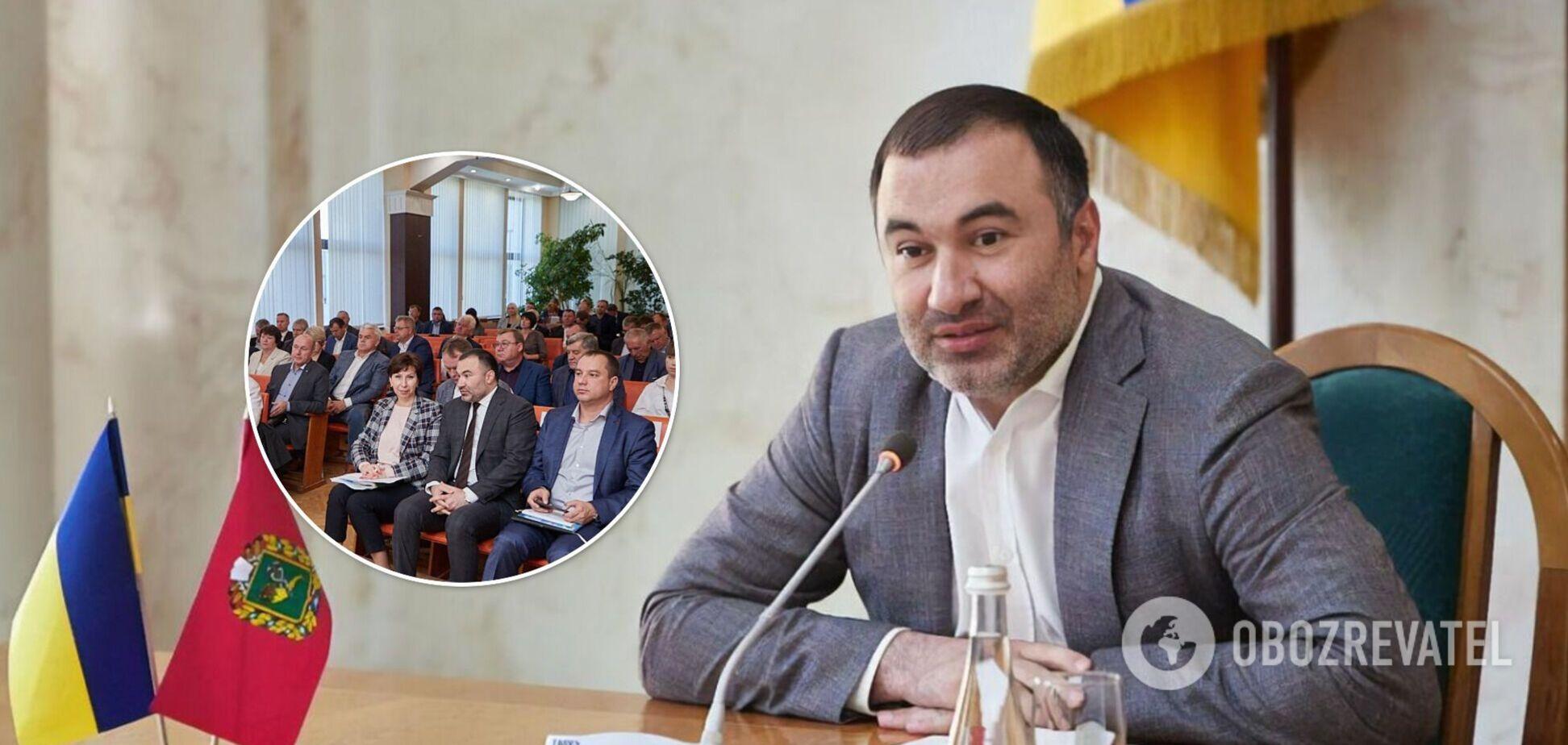 Подозреваемый во взятке экс-глава Харьковского облсовета получил новую должность. Фото