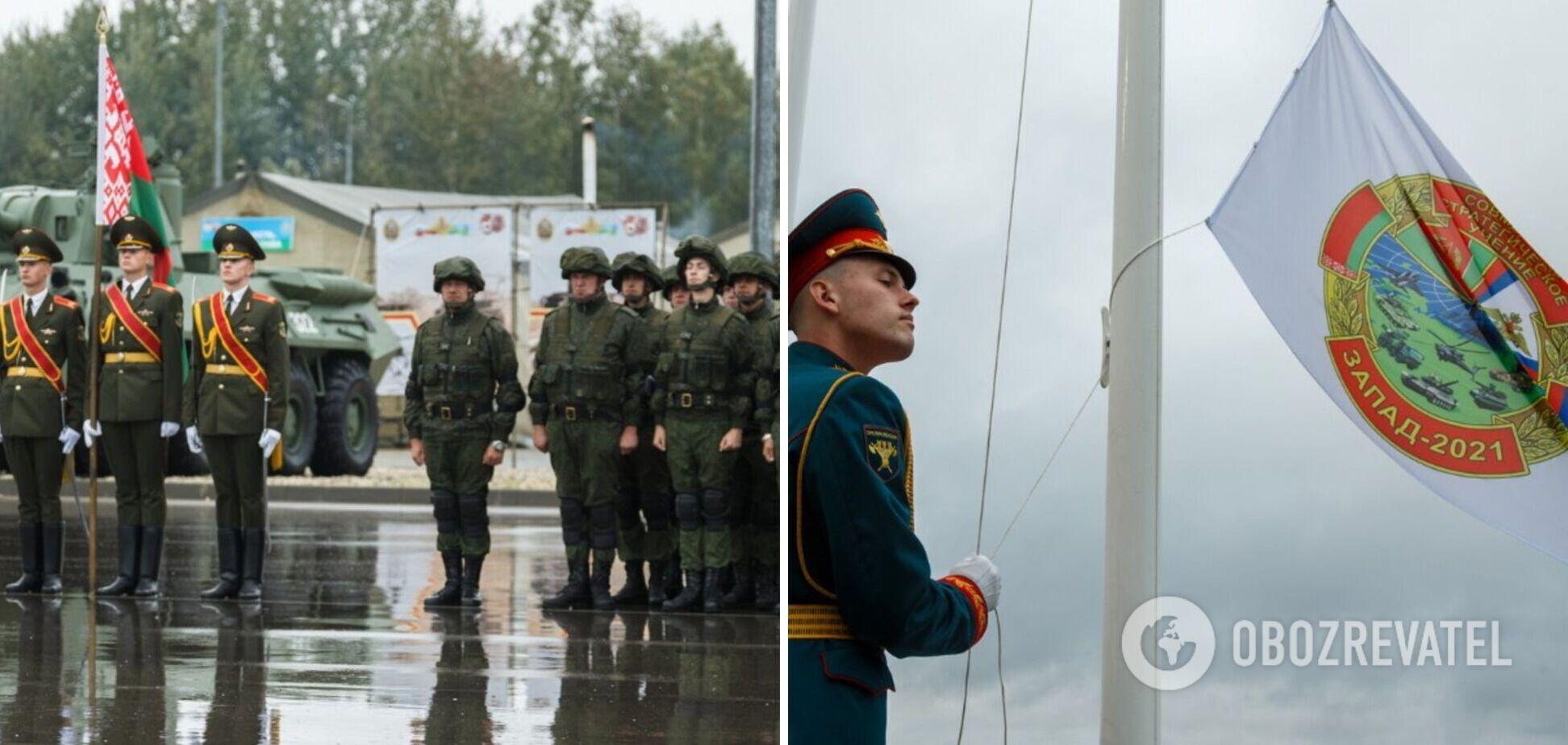 Росія і Білорусь почали військові навчання 'Захід-2021' біля українського кордону. Фото