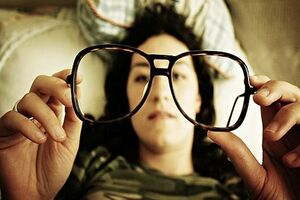 Снижение остроты зрения в сумерках