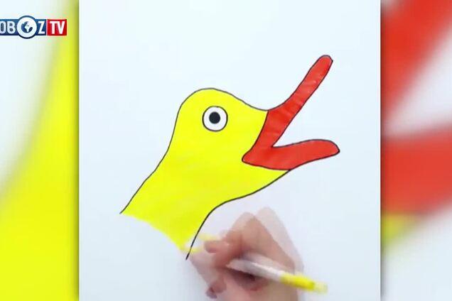 Художниця показала, як швидко намалювати звірів